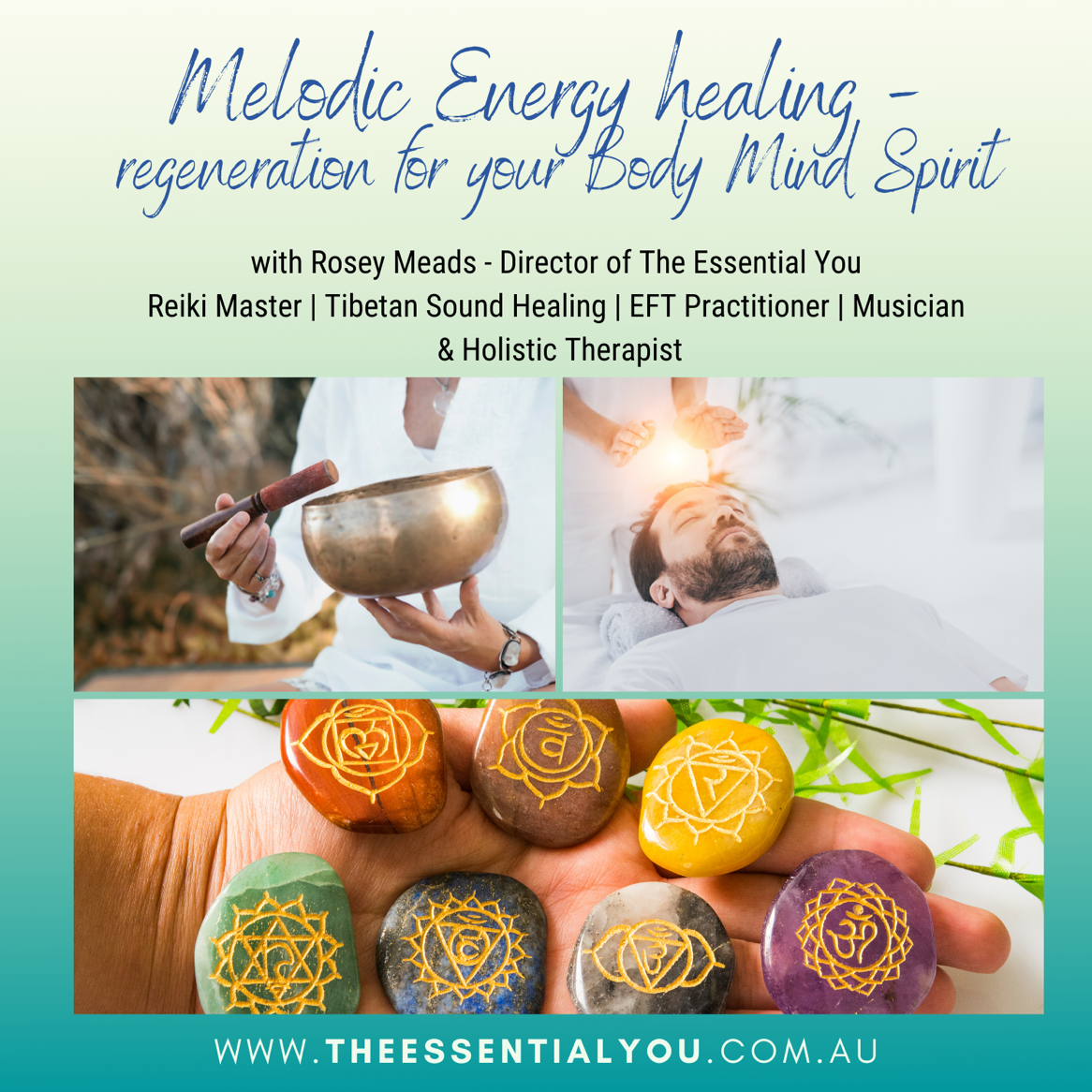 Melodic Energy Healing | Melodic Healing | Energy Healing | Rosey Meads | The Essential You